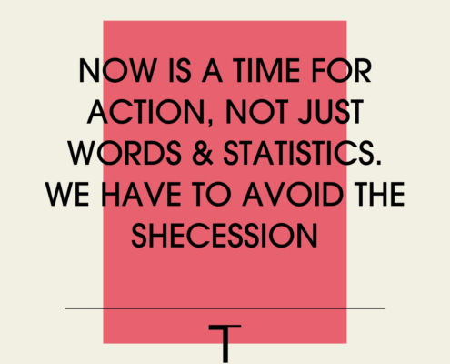 Avoiding the Shecession